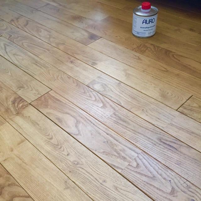 160524栗の木の床