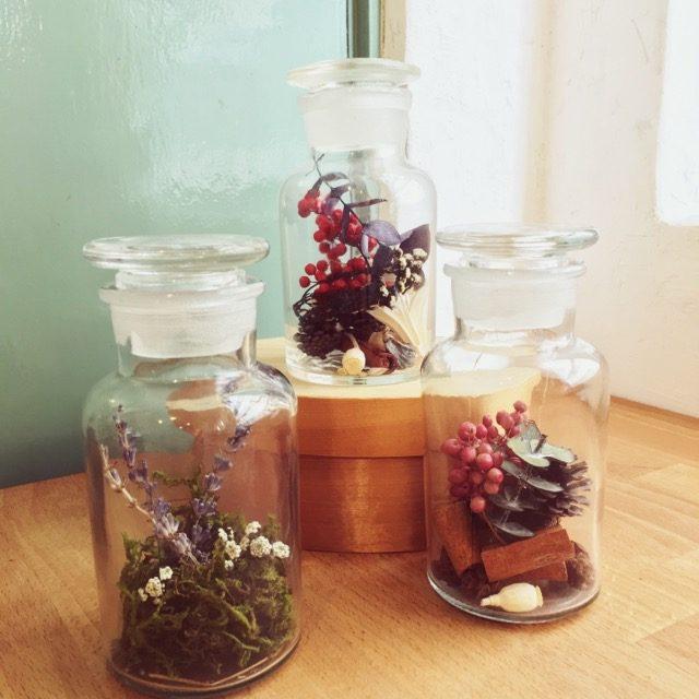 香りの贈りもの アロマの植物標本作りワークショップ