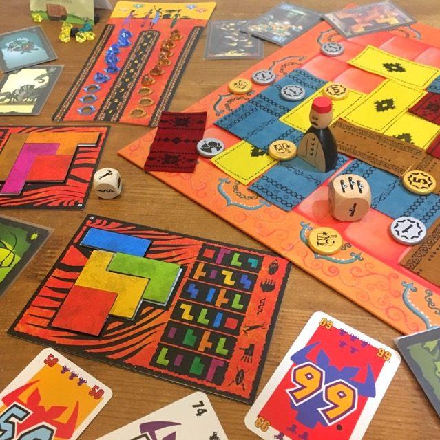 ウボンゴ,マラケシュ,ごきぶりポーカー,インカの黄金,ボードゲーム