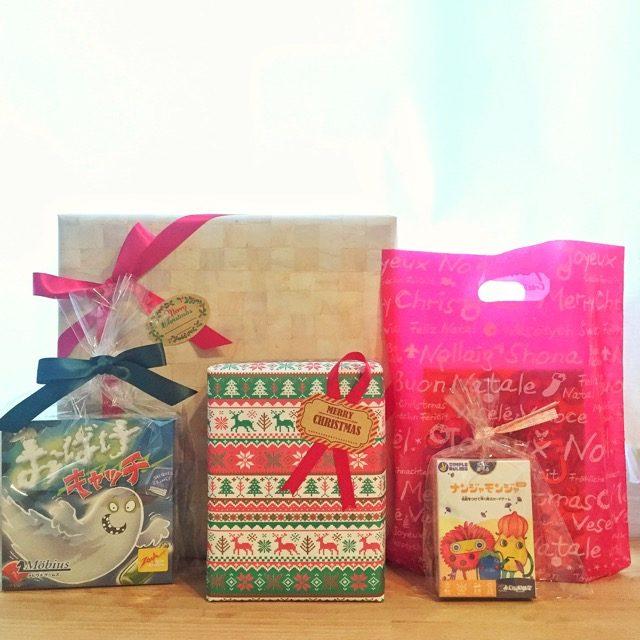 クリスマスプレゼントラッピング無料