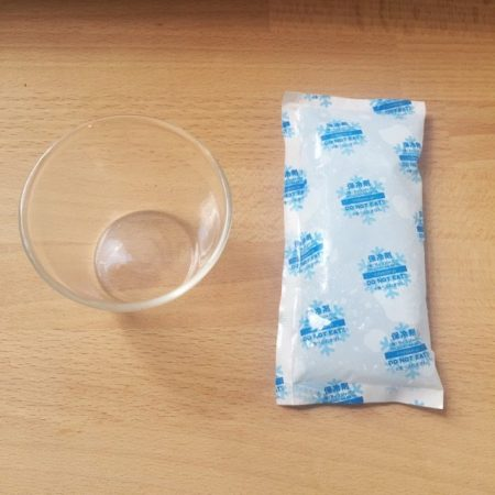 アロマと保冷剤の消臭剤