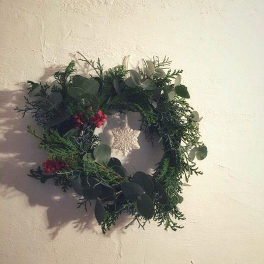 香りを楽しむクリスマスリースワークショップ
