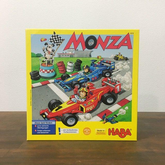モンツァ・カーレース、MONZA、ボードゲーム、HABA