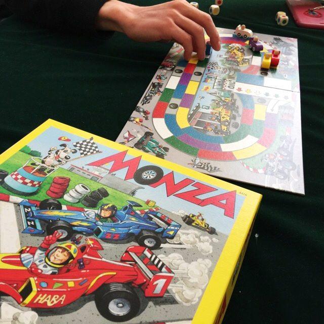 モンツァ・カーレース、MONZA、ボードゲーム 、HABA