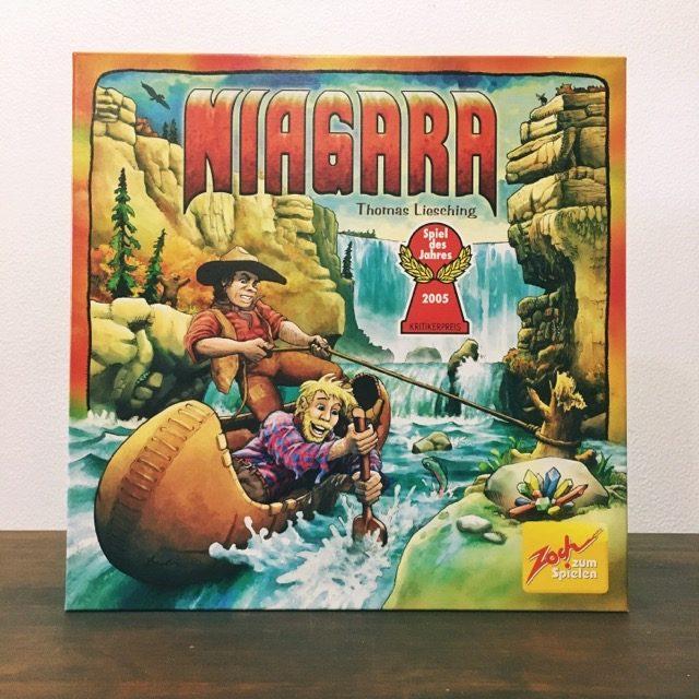 ナイアガラ、ボードゲーム